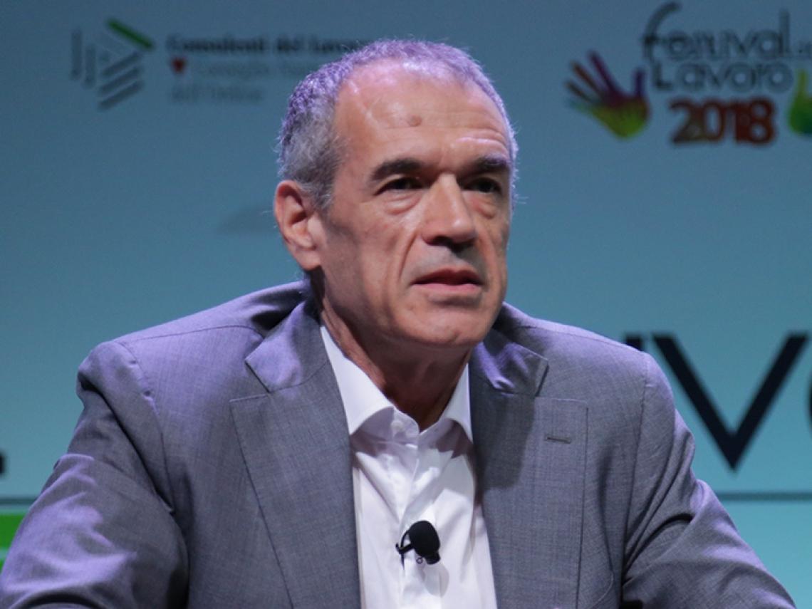 Crisi: Cottarelli, per evitare situazione Grecia riforme per crescita economica