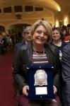 Taormina, 29/03/2014 - Premio Jacopo Da Lentini assegnato a Marina Calderone