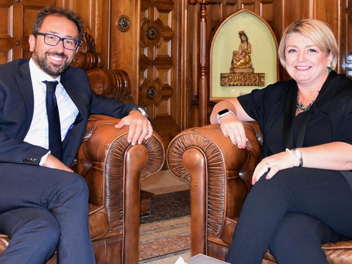 Incontro tra la presidente Calderone e il Ministro di Giustizia Bonafede