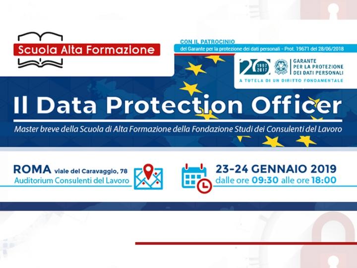 """2° edizione master """"Il Responsabile della Protezione Dati"""""""