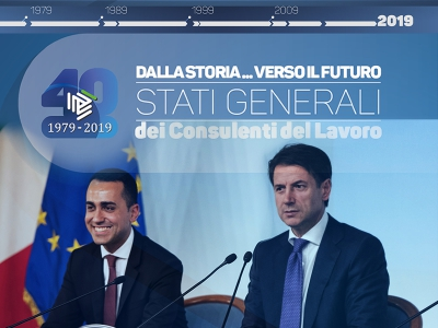 40 anni Legge 12/79: Conte e Di Maio all'evento