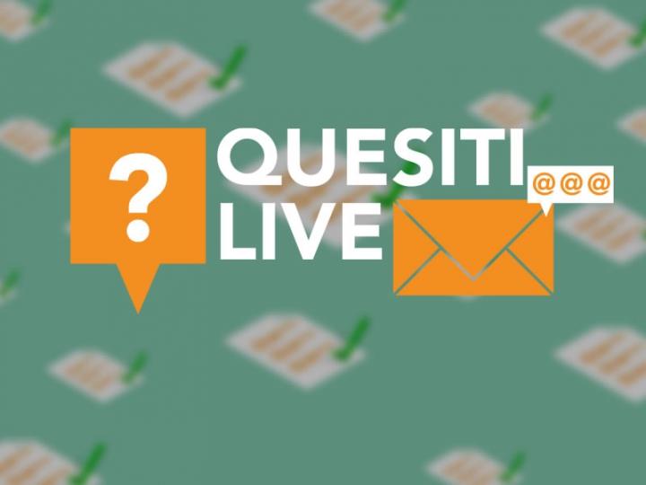 Quesiti LIVE: il 23.10 seconda puntata in diretta streaming