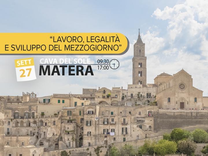 A Matera il primo convegno interregionale Basilicata-Puglia